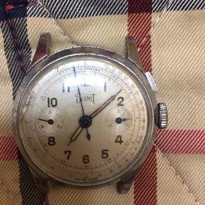 Vintage Bovet Telemeter stopwatch
